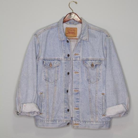 Levi's Faded Denim Jacket (L)